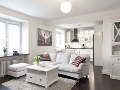 myidealhome:  white is the new black (via stadshem)