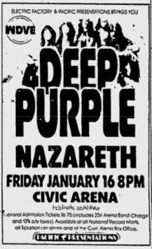 Deep Purple, Nazareth