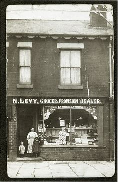 Levy family shop in St James Street, Salford
