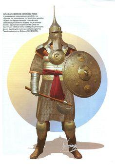 Christos Giannopoulos - Guerrero turco otomano, siglo XV