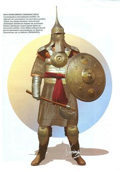 Turcish Heavy Armed Warrior