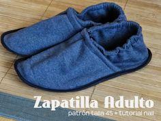 Tu esposo disfrutará este cómodo regalo. ¿Te gusta? #yolohice #Singer #pantuflas