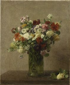 Flowers from Normandy, Henri Fantin-Latour, 1887