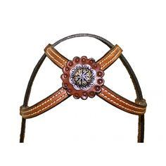 #HorseTack #CrissCross #Headstall #BarrelRacingTack Buffalo Leather - Cody Pro Criss Cross Crown Headstall