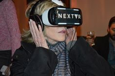 See Jane Fonda react to trying VR for the first time, at a sushi restaurant | UPLOAD VR - Virtual Reality News, Events, and Media
