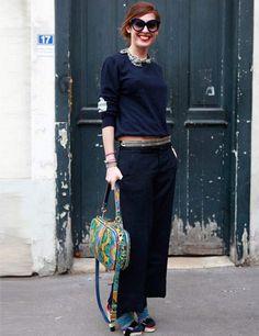 Street style de la Fashion Week de Paris automne-hiver 2012-2013