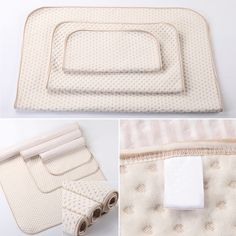 Baby Newborn Breathable Waterproof Urine Mat Diaper Nappy Changing Pad Cover LH