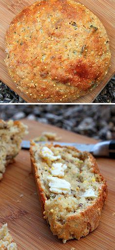 Upečte si domácí chléb s bazalkou - DIETA.CZ