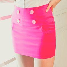 Faldas en Bright Colors lo más chic para esta semana!
