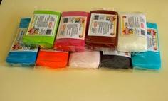 Fondant Kelmy, disponible en varios formatos y en 21 colores