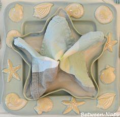 Tablescape ● Tutorial ● Starfish Napkin Fold