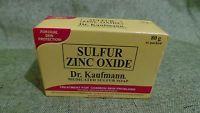 Dr.Kaufmann Medicated Sulfur Zinc Oxide Soap for Acne Scabies Psoriasis Lice