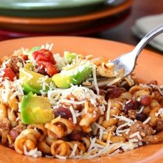 Turkey Taco Pasta Skillet - a delicious one-pot meal that makes your life easier!