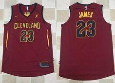 NBA Maillot T-shirt Lebron James Cleveland Cavaliers CAVS 23 Rouge Logo