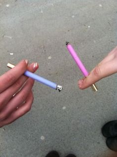 we used to smoke these in high school bc we thought we were cool.