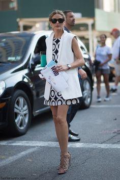 Olivia Palermo street style at #NYFW. (September 2014) #oliviapalermo