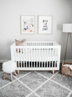 Modern Baby Nursery Decor Room Bedroom