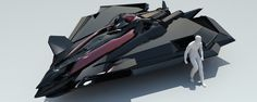 Practicing doing some rough concept ideas in Spaceship Art, Spaceship Design, Space Fighter, Fighter Jets, Antique Cars For Sale, Mexico 2018, Stealth Aircraft, Starship Concept, Flying Vehicles