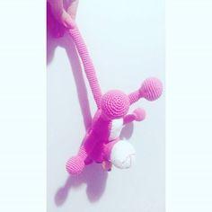 :P Pattern: Chibigumis #pinkpanther #crochet #crochetlovers #amigurumi…
