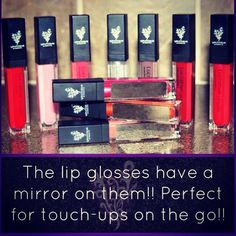 Mirror + lip gloss = AWESOMENESS How to get it here: https://www.youniqueproducts.com/LanaMyNguyen/party/1467408/view