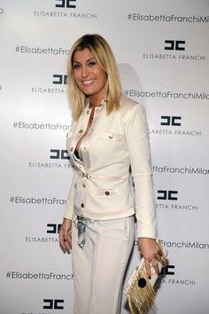 Raffaella Zardo in Spring '13 collection total look at Fall 2013 presentation.    Shop Jacket > http://j.mp/XsQxkM  Shop Bag > http://j.mp/VSapPk