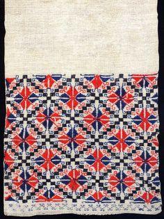 FolkCostume: Rushnyk embroidery of southern East Podillia Ukraine