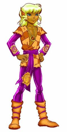 Suntop, now known as Sunstream, from Elfquest. Art by Wendy Pini.