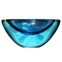 Large Seguso Murano Bowl   From a unique collection of antique and modern glass at http://www.1stdibs.com/furniture/dining-entertaining/glass/