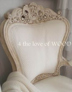 4 the love of wood: HOW TO PAINT AN UPHOLSTERED CHAIR FROM TOP TO BOTTOM with annie sloan