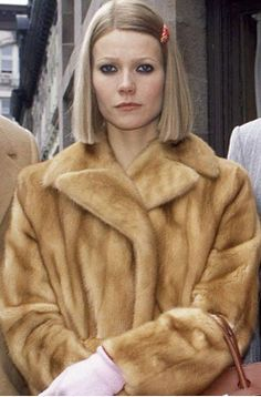 "Margot's offbeat wardrobe of Lacoste tennis dresses, fur coats, vintage bags and barrattes showed Gwyneth Paltrow in a whole new light.  FACT: Director Wes Anderson wanted to make the Tenenbaums appear ""trapped in the era of their heyday"", so made sure all clothes were from the 1970s and characters stayed in the same or similar outfits throughout the movie."