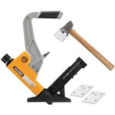 Shop Bostitch Pneumatic Flooring Tool at Lowe's Canada. Find our selection of pneumatic nailers & staplers at the lowest price guaranteed with price match. Flooring Tools, Staple Gun, Air Tools, 2 In, Hardwood Floors, Home And Garden, Staplers, Furniture