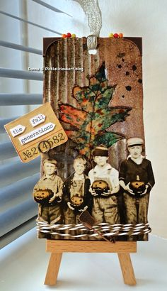Inky and Quirky: Tim Holtz November 2014 Tag
