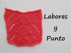 Marixa González shared a video Lace Knitting, Knitting Stitches, Knitted Blankets, Knitted Hats, Knitting Designs, Knitting Patterns, Crochet Baby, Knit Crochet, C Tutorials