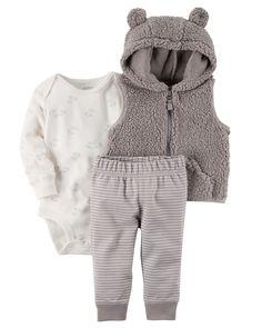 Baby Boy 3-Piece Little Vest Set | Carters.com