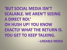 """I loved this statement in the click-through article about """"The Social Bowl: How Social Media Will Take Center Stage At This Year's Biggest Game"""" Social Media Usage, Social Media Analytics, How To Be Likeable, Center Stage, Big Game, Hush Hush, Games, Gaming, Plays"""