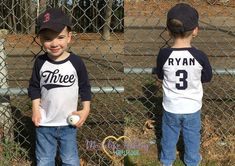 Third Birthday Shirt Boys Baseball Birthday Shirt First Birthday Shirt Birthday Shirt Boys Clothes Boys Birthday Birthday Outfit What can be cuter than your little Birthday Boy in his own Personalized Baseball Birthday Shirt! This Playful Birthday Sh Boys First Birthday Shirt, Baseball Birthday, First Birthday Photos, Third Birthday, Boy Birthday, Personalized Birthday Shirts, Boys Shirts, First Birthdays, Boy Outfits