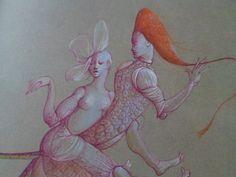 Leonor Fini, La fruta de la pasión.