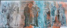 jutta hellbach, ausstellung wenn die chemie stimmt, textie kunst, patchwork, art