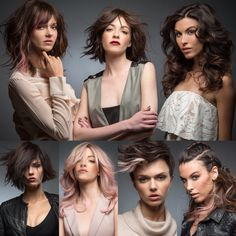 New Collection #EricZemmour Fall/Winter 2016 2017... Which do you like more?    #bob #lob #wob #carre #wavy #pinkhair #pixiecut #monaco #montecarlo #monmonaco #newcollection #trends #fashion #waves #pink #hairporn #hairinspiration #hairideas #best #hair #hairstyle #followme #hairdresser #ericzemmourmonacoII #lorealpro #iamlorealpro