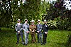 Groom style, grooms in hats, stylish groom inspiration