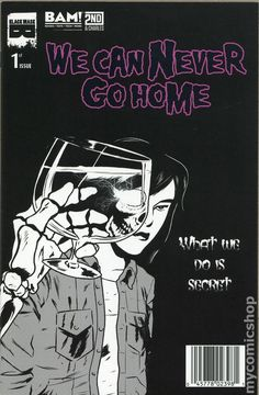 We Can Never Go Home (2015) 1BAMBlack Mask Comics Modern Age comic book covers indy independent obsure 1