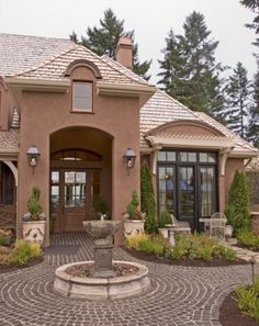 Nice pics of home exteriors on this site