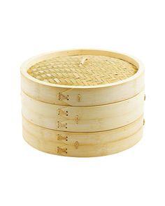 Harold Imports Bamboo Steamer