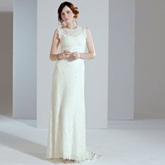 Phase Eight Ivory mariette wedding dress- at Debenhams.com 9def50824