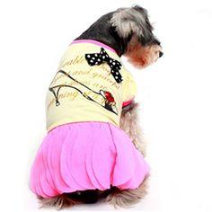 Vestido Scarpin Amarelo Gutti Pet - MeuAmigoPet.com.br #petshop #cachorro #cão #meuamigopet