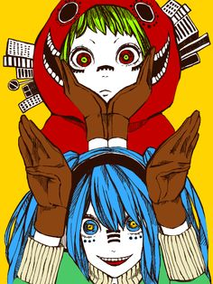 Matryoshka Miku and Gumi :3 by Neki84.deviantart.com