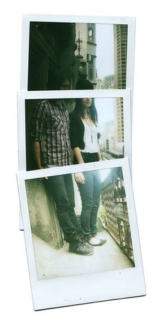 by Miso, polaroid collage, travel