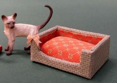 A quick and easy project perfect for the small animal that lives in your dolls house. ...