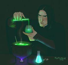 The Potions Master by upthehillart on @DeviantArt