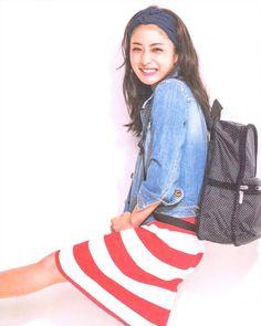 Satomi Ishihara, Ideal Image, Girl Fashion, Womens Fashion, Fashion Ideas, Beautiful Actresses, Beautiful Women, Portrait, Denim
